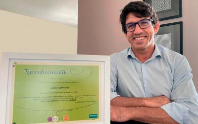 Certificado 10 anos EPROJ Unimed Fortaleza